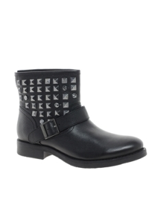 $145.94 Bertie Punk Rock Stud Biker Boot