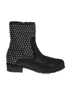 $210.02 Black Secret Hollow Studded Boot